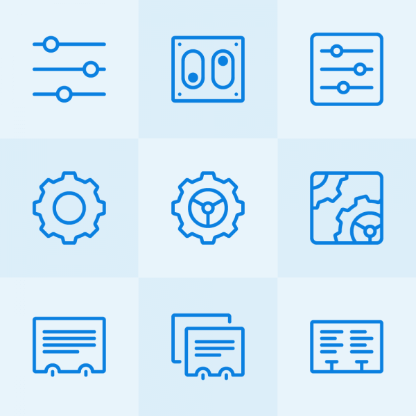 Lynny Icons - Mini Set 8 vector