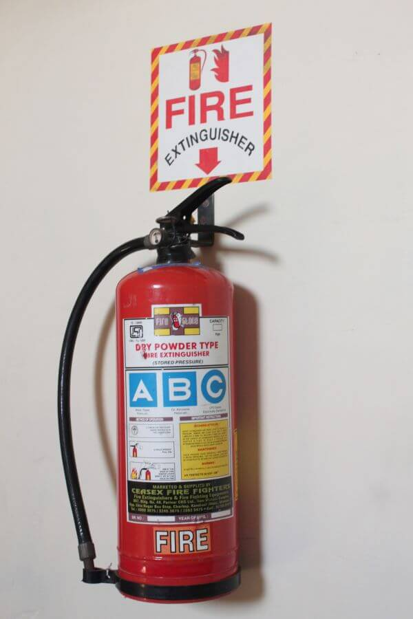 Fire Extinguisher Red photo