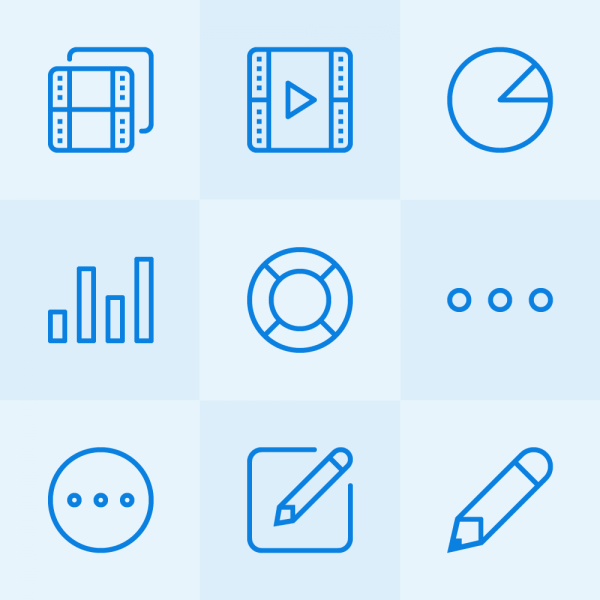 Lynny Icons - Mini Set 3 vector