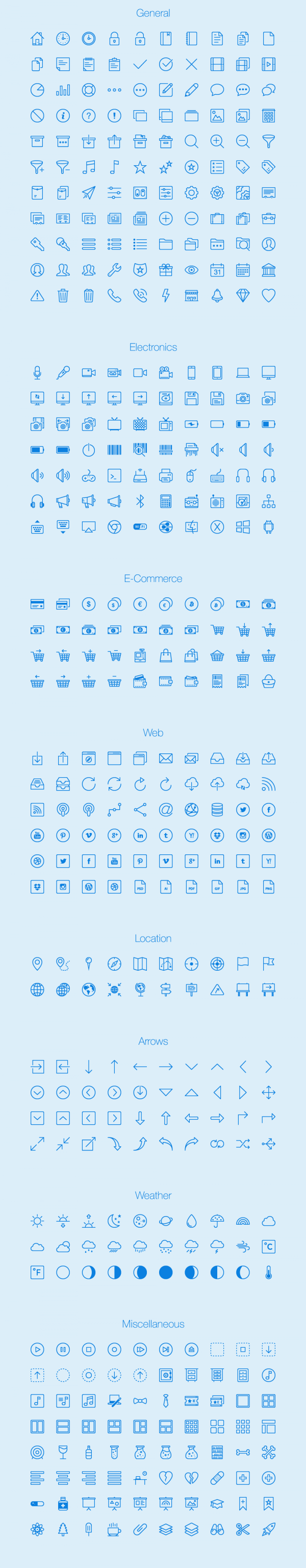 Lynny Icons - Full vector