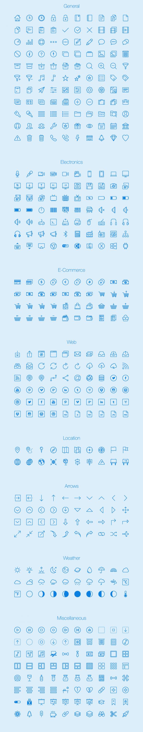 Lynny Icons - Full vector