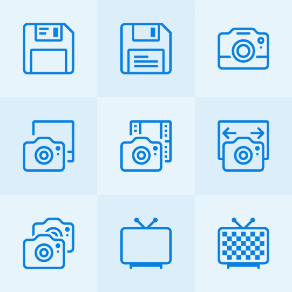 Lynny Icons - Mini Set 15 vector