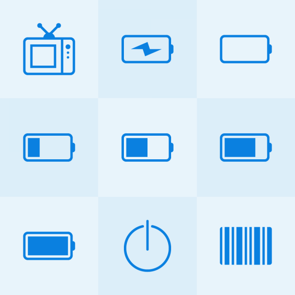 Lynny Icons - Mini Set 16 vector