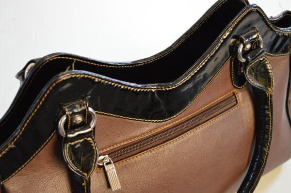 Ladies Handbag Closeup photo