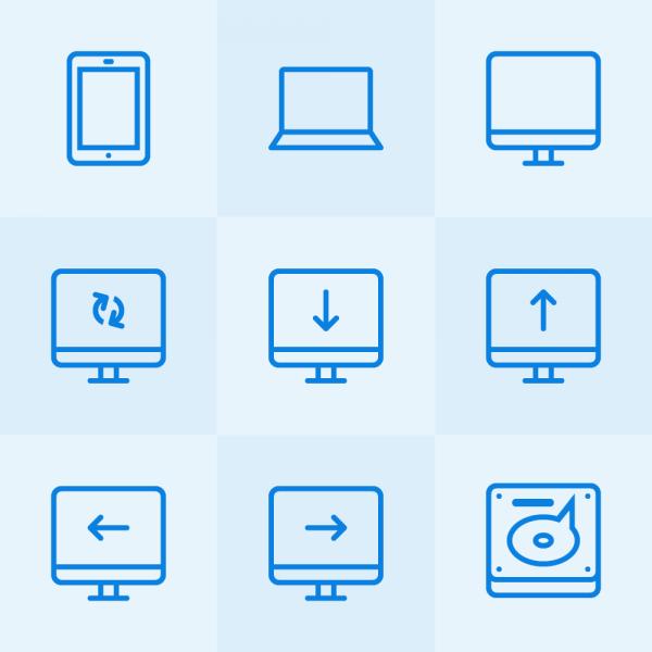 Lynny Icons - Mini Set 14 vector
