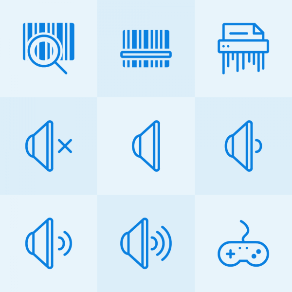 Lynny Icons - Mini Set 17 vector