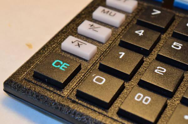 Calculator Close photo