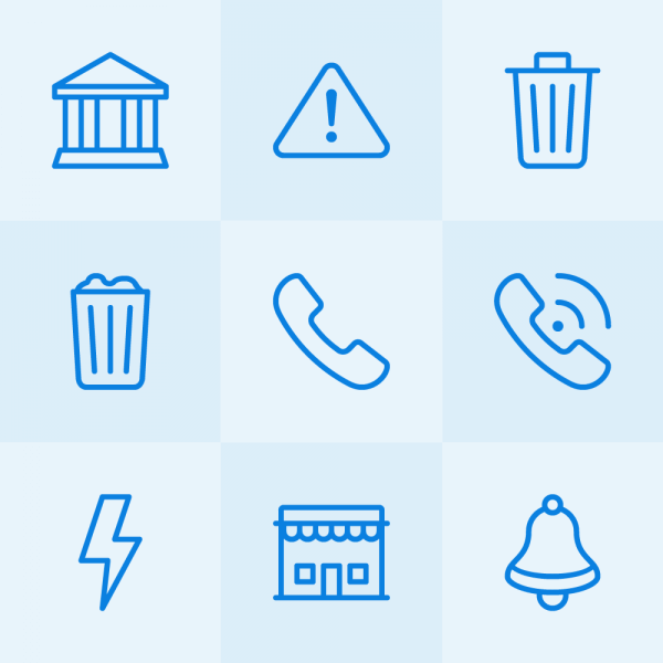 Lynny Icons - Mini Set 12 vector
