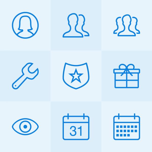 Lynny Icons - Mini Set 11 vector