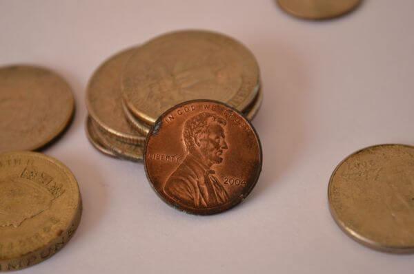 Lincoln Face Coin photo