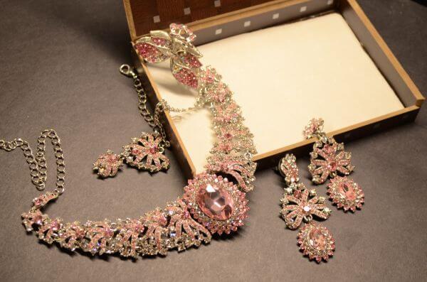 Beautiful Jewelry Pink Stones photo