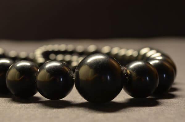 Bracelet Black Stones photo