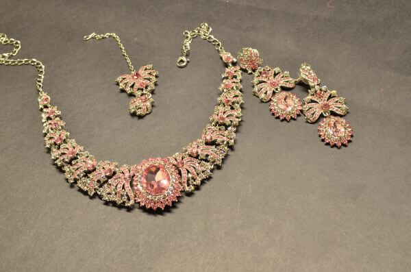 Jewelry Set Earrings Necklace photo