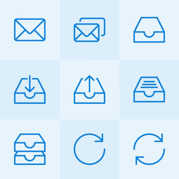 Lynny Icons - Mini Set 26 vector