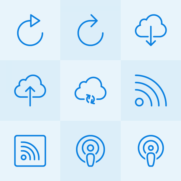 Lynny Icons - Mini Set 27 vector