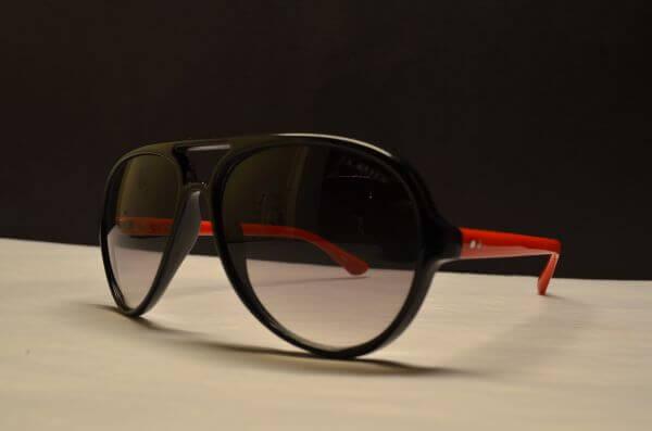 Sunglasses Red photo