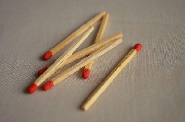 Matchsticks photo