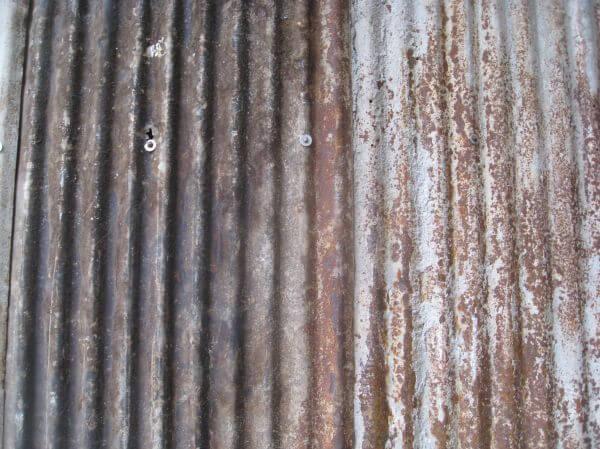 Rusted Metal Scrap photo