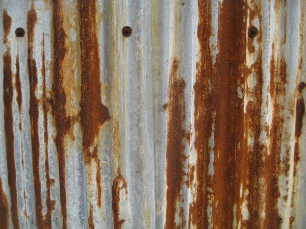Rusted Metal Sheet photo