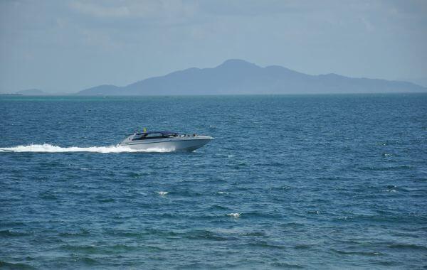 Speedboat Sea Thailand photo