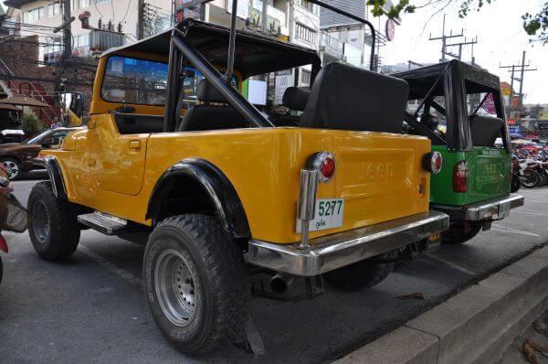 Thailand Jeeps Road photo