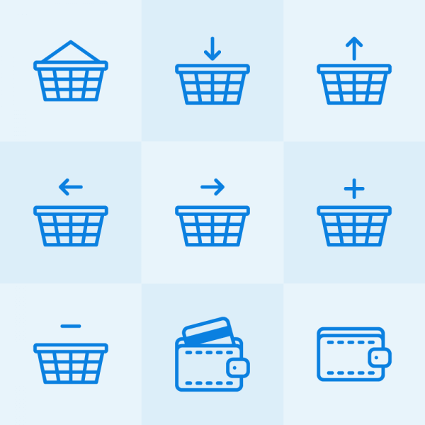 Lynny Icons - Mini Set 24 vector