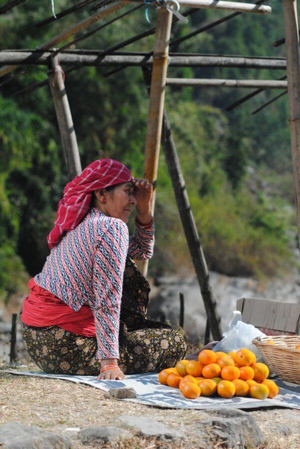 Orange Seller India photo
