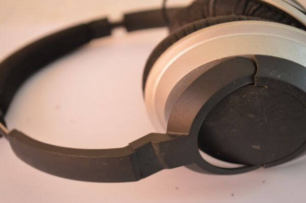Old Headphones Worn Out photo