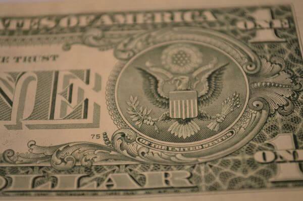 One Dollar Closeup photo