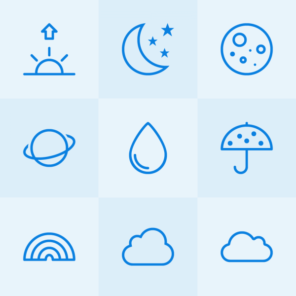 Lynny Icons - Mini Set 39 vector
