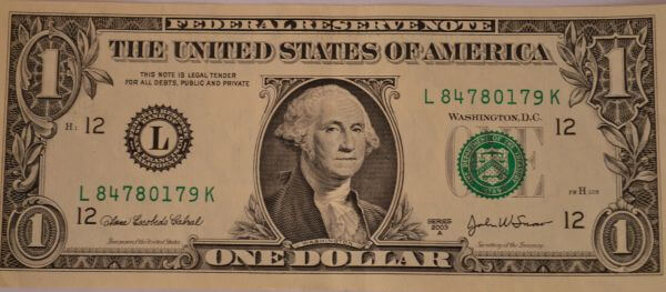 One Dollar Front photo