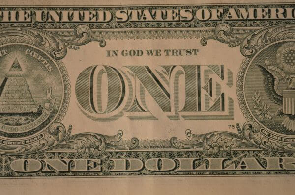 One Dollar Note photo