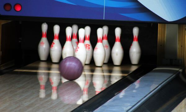 Bowling Alley Pins photo