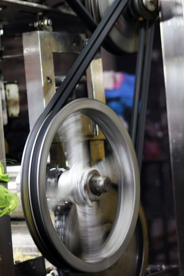 Machine Wheel photo
