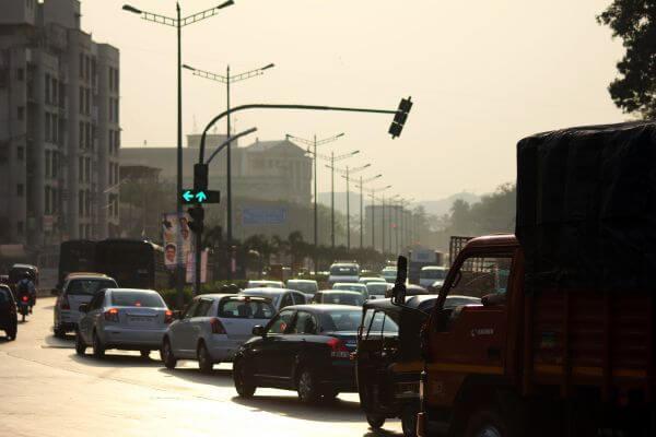 Mumbai Traffic Signal photo