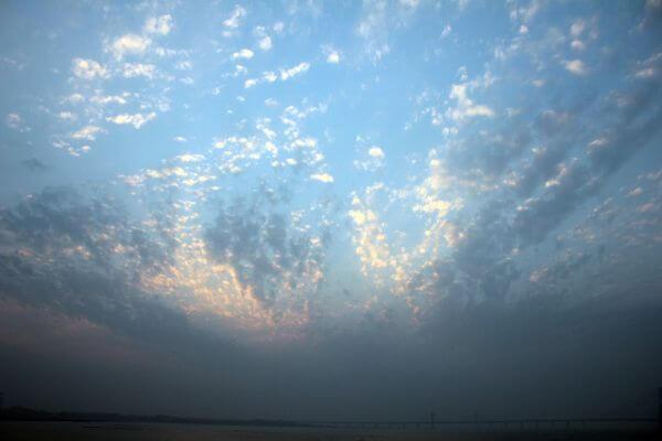 Sky Blue Clouds photo