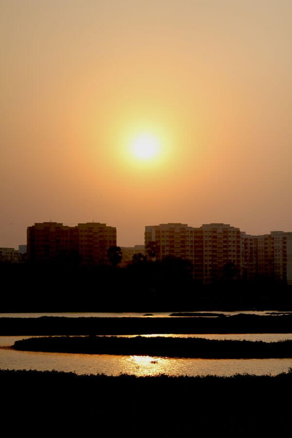 Sunrise In Mumbai City photo