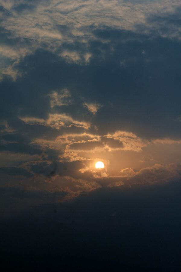 Sunset Scenery Clouds photo
