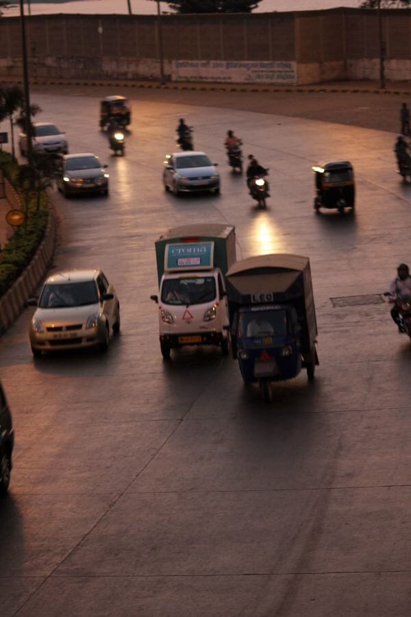Traffic Evening photo
