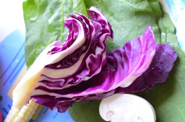 Cabbage Leaves photo