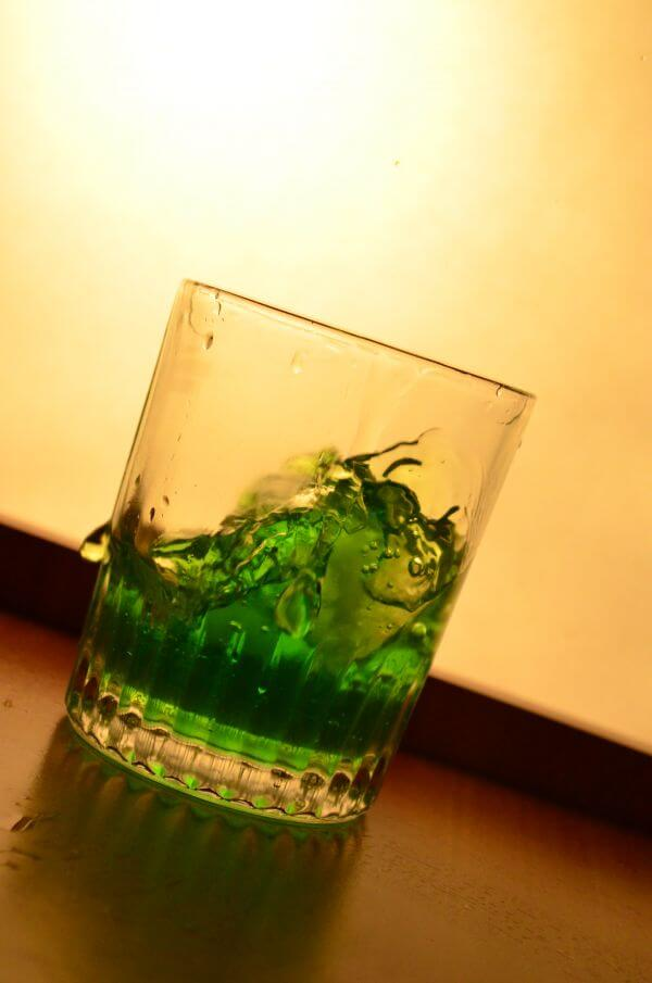 Green Liquid Glass photo