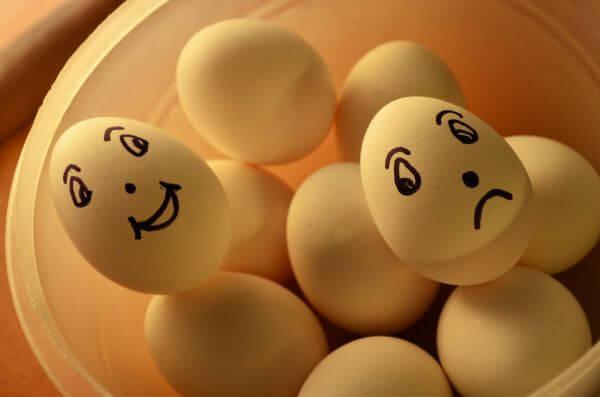 Happy Sad Faces photo