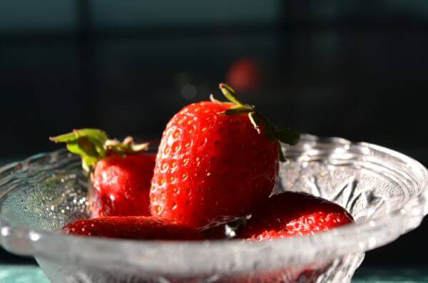 Strawberry Bowl Fruits photo