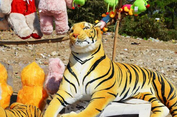 Tiger Soft Toy photo