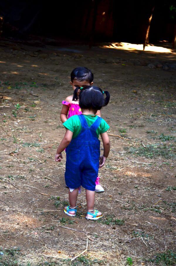 Two Children photo