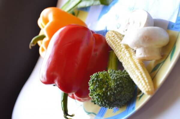 Vegetables Plate photo