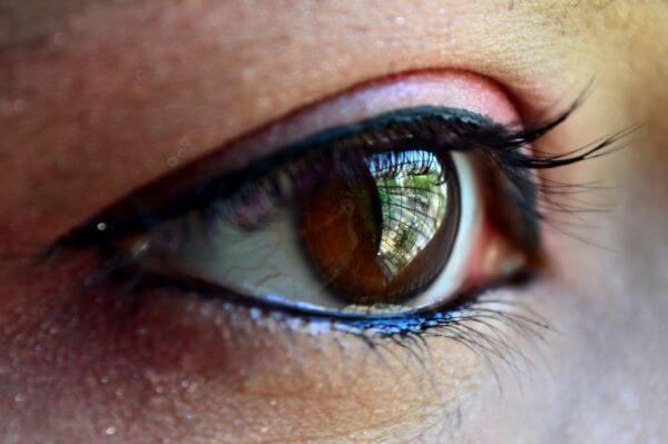 Beautiful Eyes Closeup photo