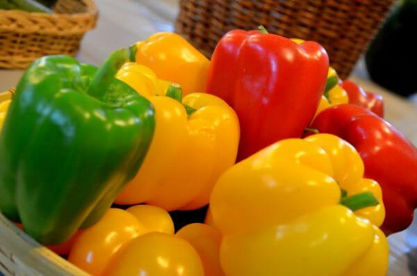 Different Bell Peppers photo