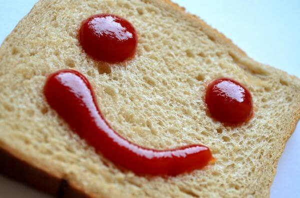 Ketchup Bread Smile photo