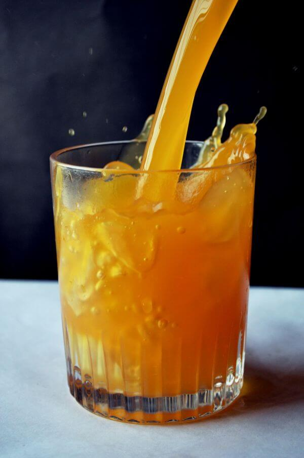 Orange Juice In Glass Nutrition photo
